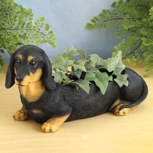 Dog Shaped Planter