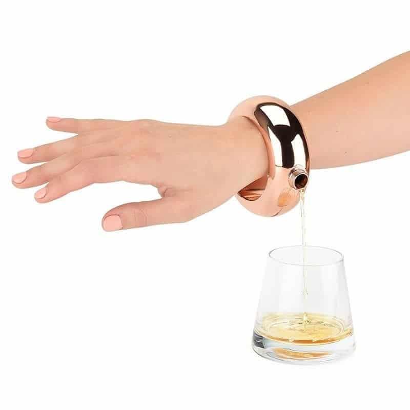 Bangle Bracelet Flask