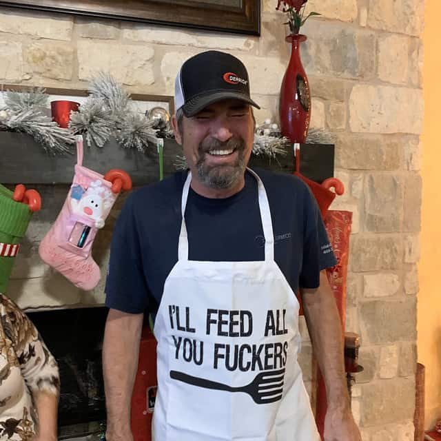 Funny Apron for Dad