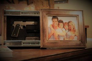Picture Frame Gun Concealer