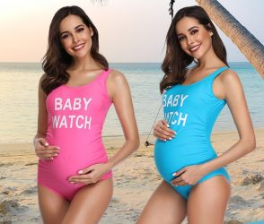 Babywatch Maternity Swimsuit