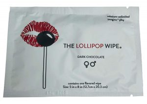 Lollipop Wipe