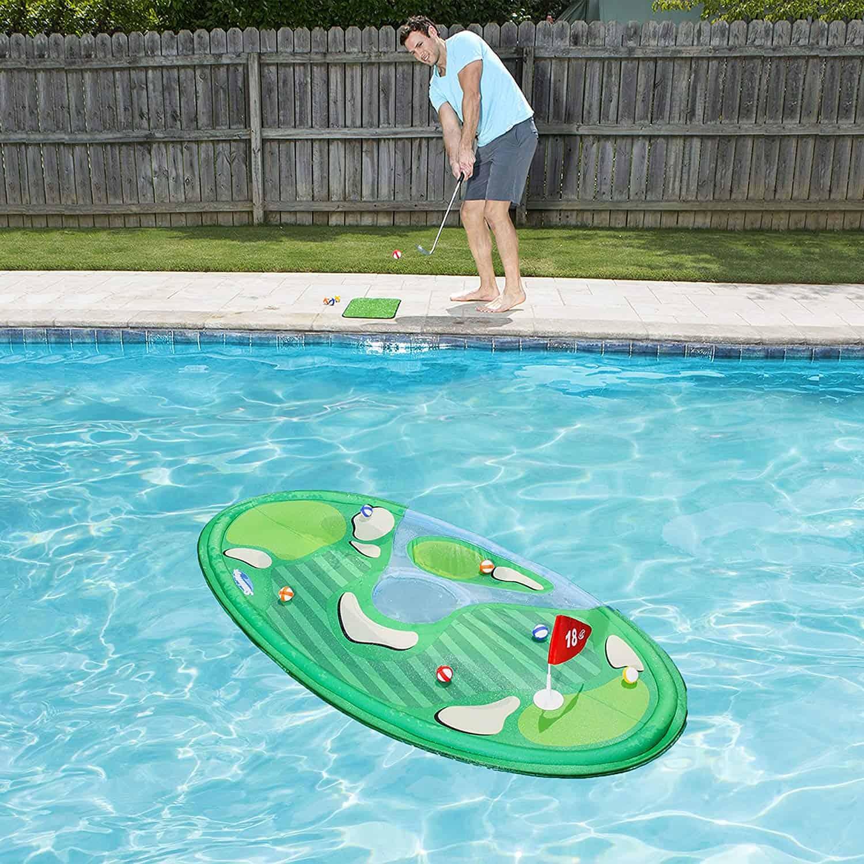 Floating Pool Golf Game