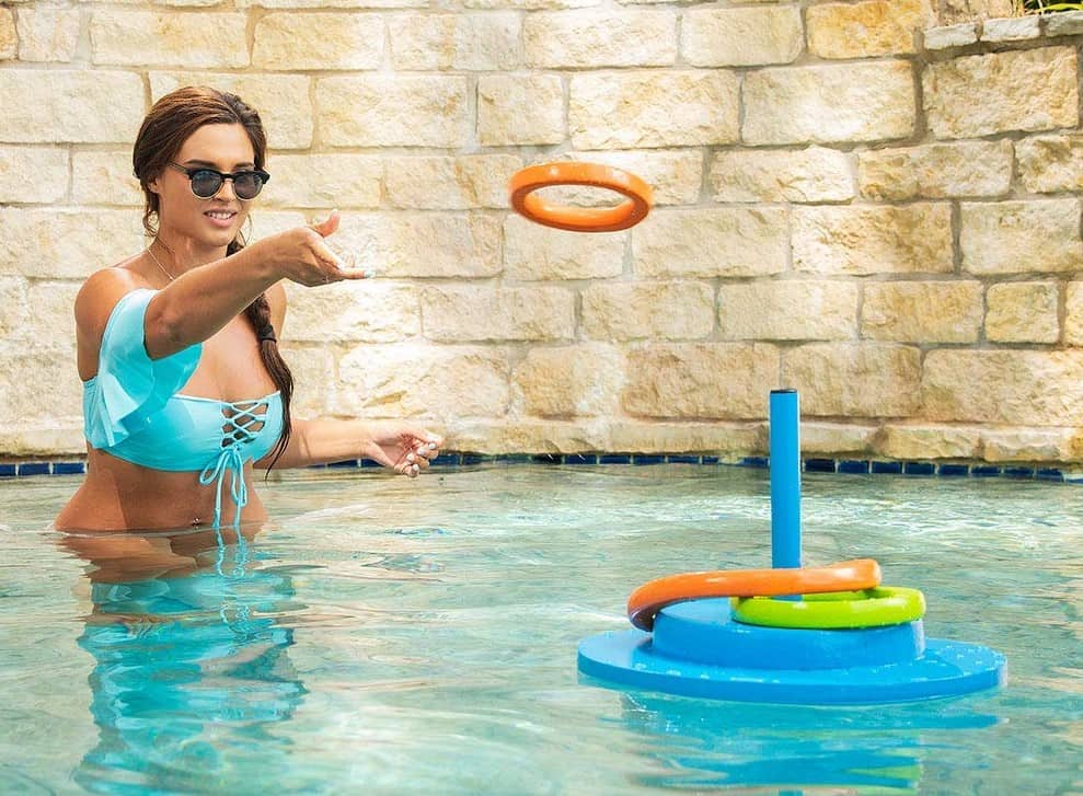 Floating Ring Toss Pool Game