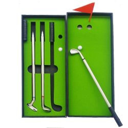 Golf Shaped Pen Set