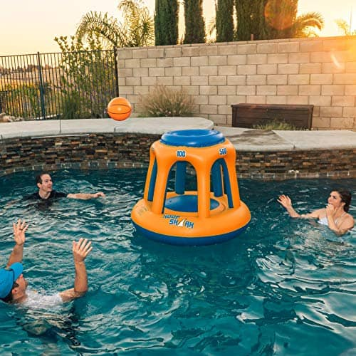 Inflatable Basketball Hoop Set