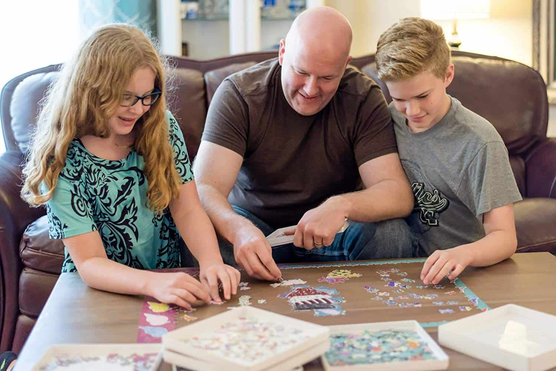 Jigsaw Puzzle Sorter Tray