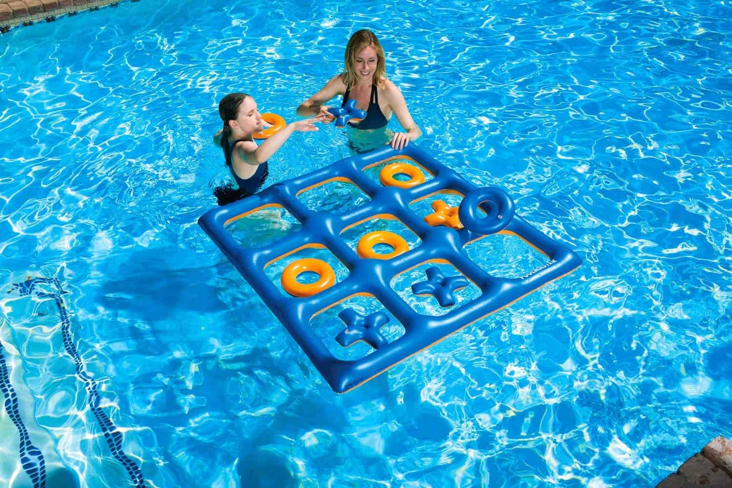 Tic Tac Toe Pool Party Game