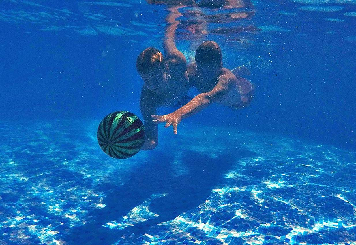 Watermelon Ball For UnderWater Play