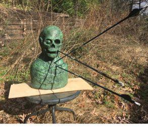 Zombie Archery Target