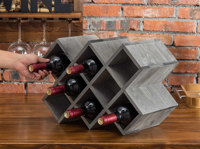 Verti-Hori Vintage Tabletop Wine Rack