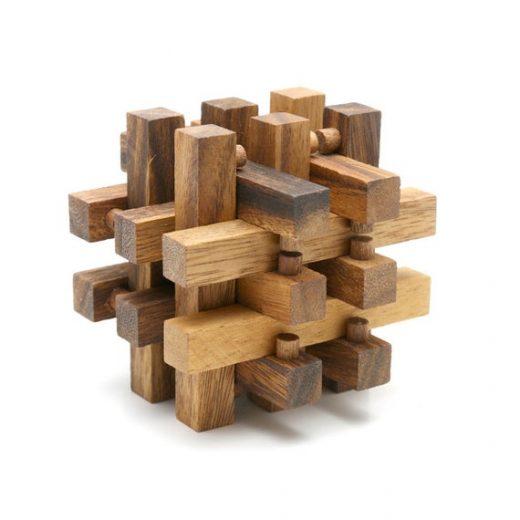 3D Wooden Puzzle Blocks