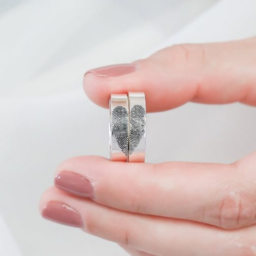 Actual Fingerprint Rings