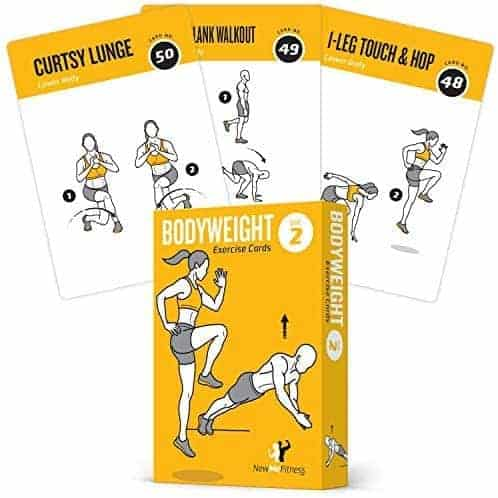 Full-Body Fitness Workout Cards
