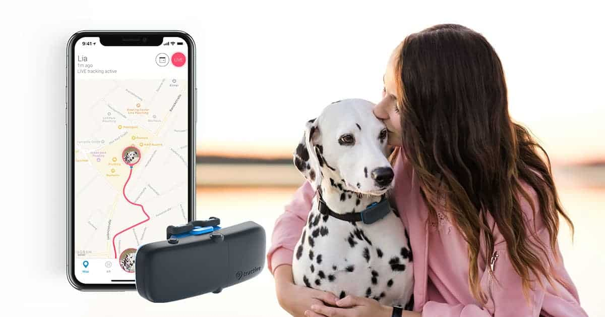 Tractive Live GPS Pet Tracker