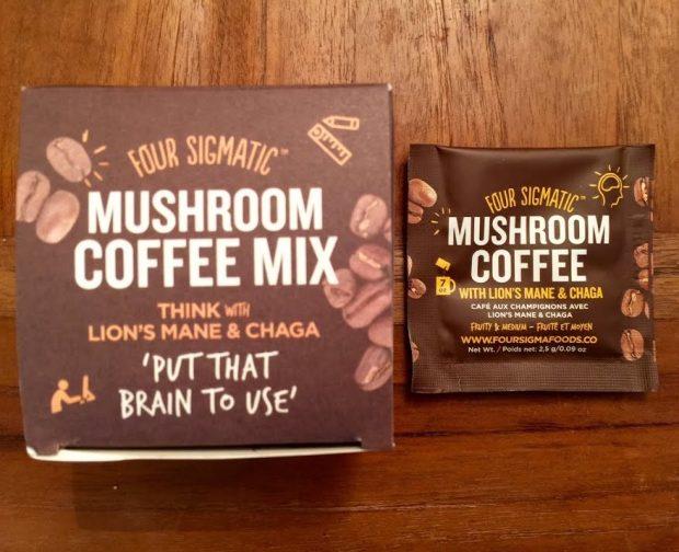 Super Coffee With Mushroom