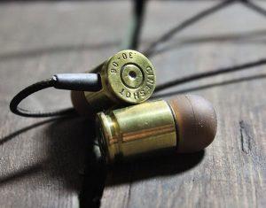 Bullet Shaped Headphones
