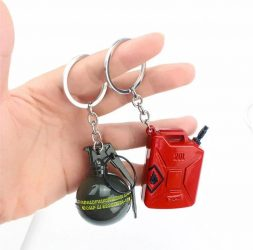 Edgy Weapon Keychains