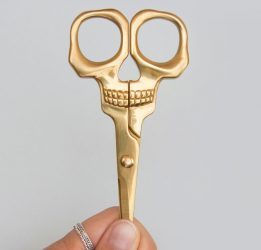 Skull-Shaped Scissors