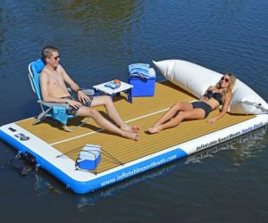 Mobile Inflatable Yacht Dock