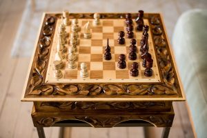 Versatile Chess Board Tables For Home Adornment