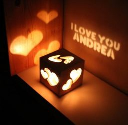 Magic Box Bedroom Table Light