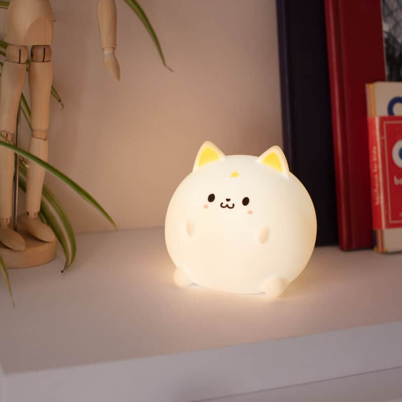 Cute Kitty Tabletop Light