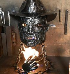 Freddy Krueger Halloween Fire Pit